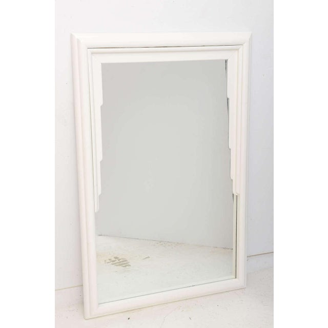 This stylish mirror will make the perfect addition to your home for a bit of clean lined glamour with its draped fabric...