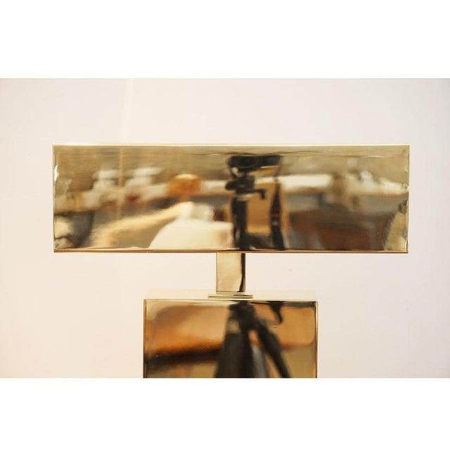 Brass 1970s Karl Springer Desk Lamp For Sale - Image 7 of 8
