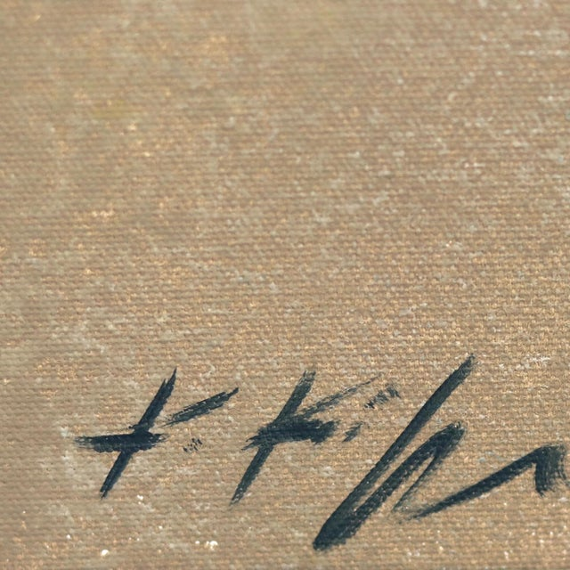 "2020s ""Dancing Light in April Palm"" Original Artwork by Kathleen Keifer For Sale - Image 5 of 8"