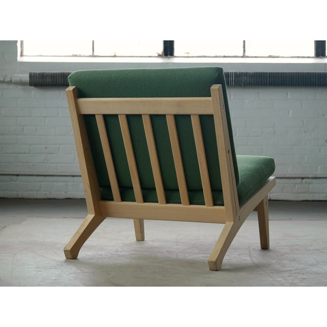 Hans Wegner Easy Chair Model GE370 for GETAMA, 1960s For Sale - Image 10 of 10