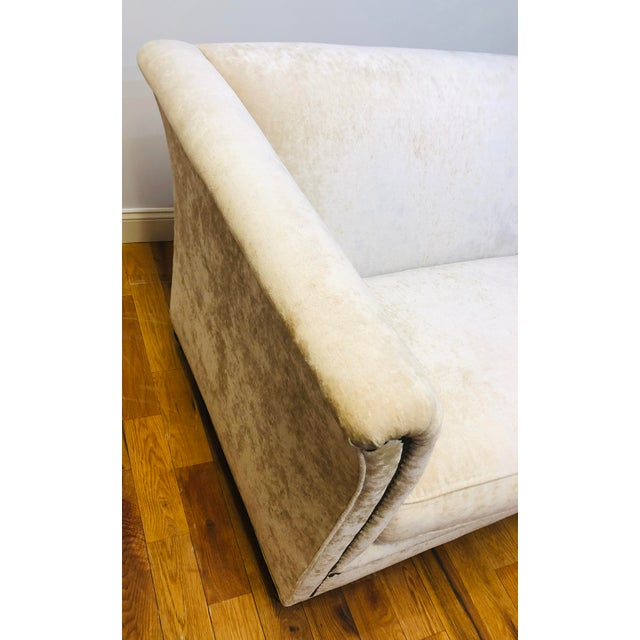 Traditional Dapha Upholstery Beige Sofa For Sale - Image 3 of 13