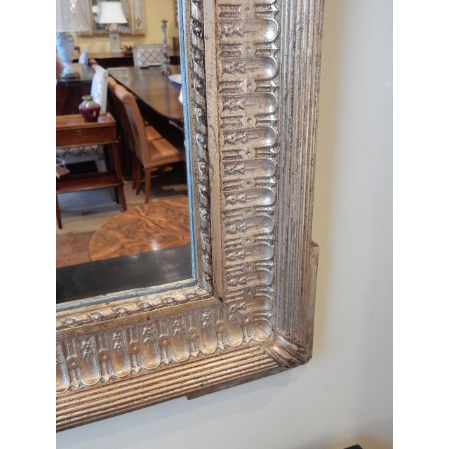 19th Century French Gold Gilt Mirror For Sale - Image 4 of 8