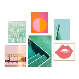 Palm Springs Gallery Wall, Set of 6 For Sale