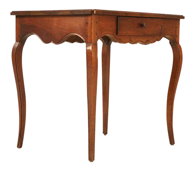 18th C Antique French Louis Xv Walnut Table Chairish