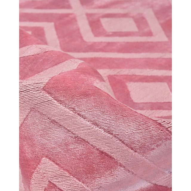 Josefina, Handmade Runner Rug - 2' 6 x 8 For Sale In New York - Image 6 of 8
