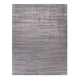 Simplicity Pink Turquoise Contemporary Handwoven Rug 10' X 14' For Sale
