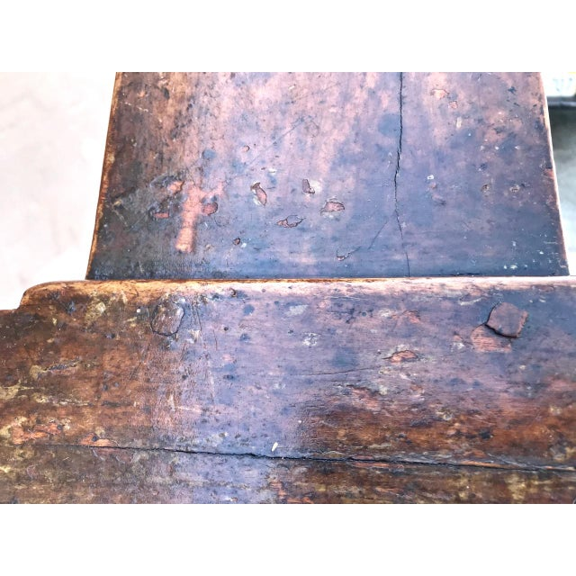 19th Century Antique Benches - a Pair For Sale - Image 11 of 12
