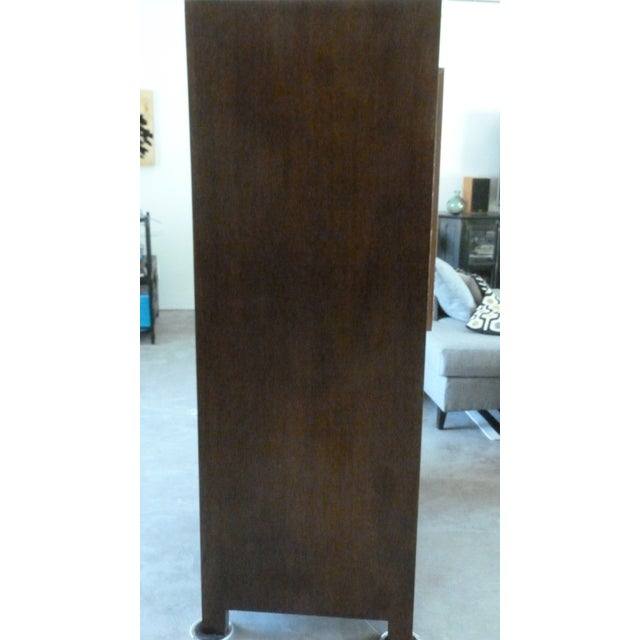 Asian Modern Asian Style Armoire For Sale - Image 3 of 5