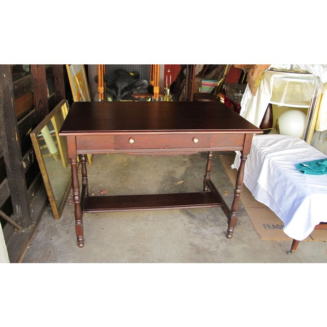 Antique Writing Desk - Image 2 of 8