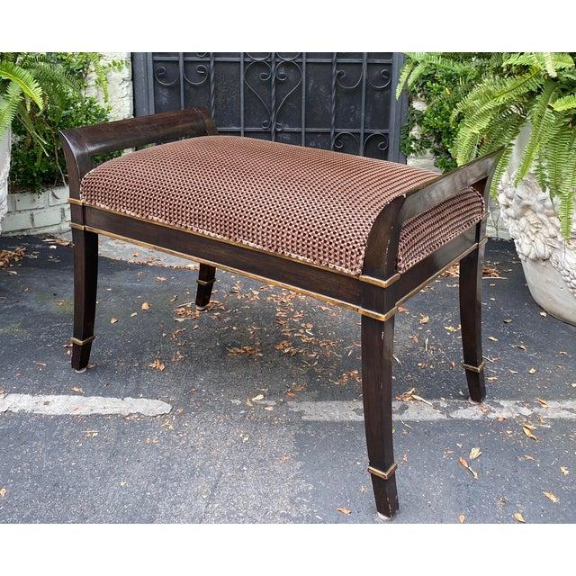 Randy Esada Designs for Prospr Sutton Place Designer Bench by Randy Esada Designs for Prospr For Sale - Image 4 of 5