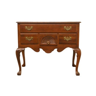 Ethan Allen Georgian Court Lowboy Chest For Sale