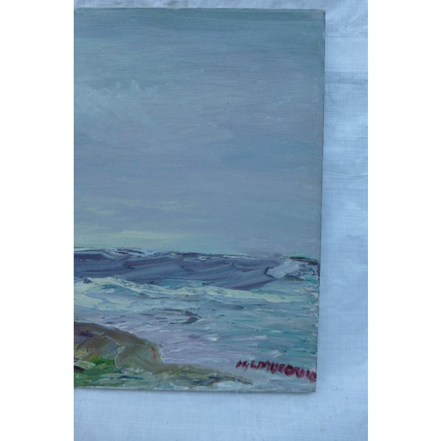 Abstract Beach Painting by H.L. Musgrave - Image 5 of 7