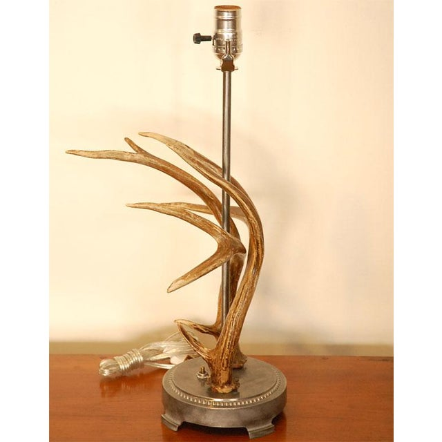 Antler Table Lamp - Image 5 of 8