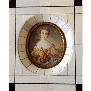 18th-19th Century Antique Miniature Portrait Painting For Sale