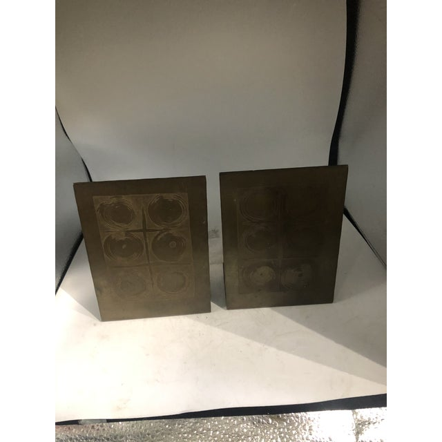German Modernist Copper Bookends - a Pair For Sale - Image 10 of 10