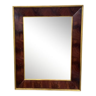 Polo Ralph Lauren City Modern Mahogany Mirror For Sale
