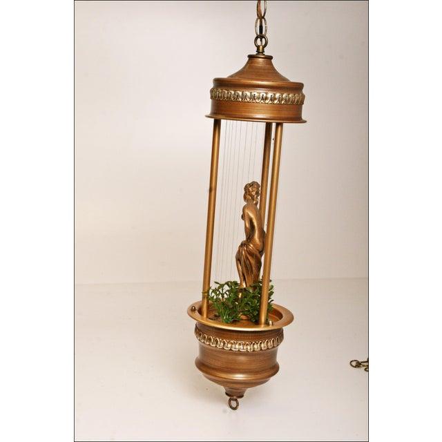 Vintage Mineral Oil Hanging Lamp - Image 9 of 11