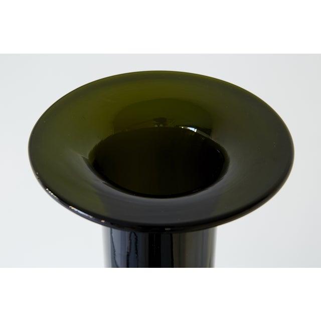 Kastrup Glass Bottle Vase by Kastrup Holmegaard For Sale - Image 4 of 5