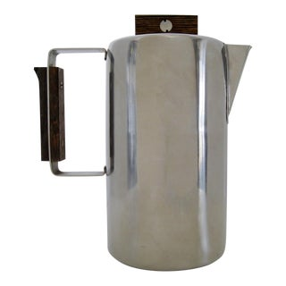 Sartel French Stainless Steel Coffee Pot For Sale