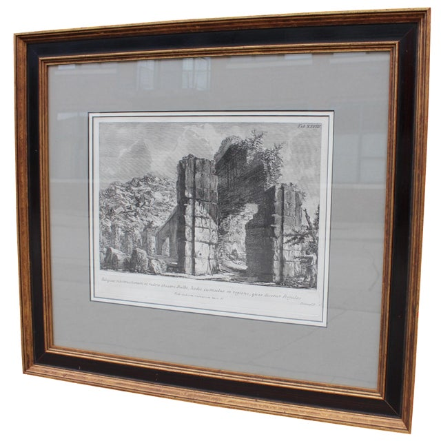 Theater of Balbus Engraving by Piranesi For Sale