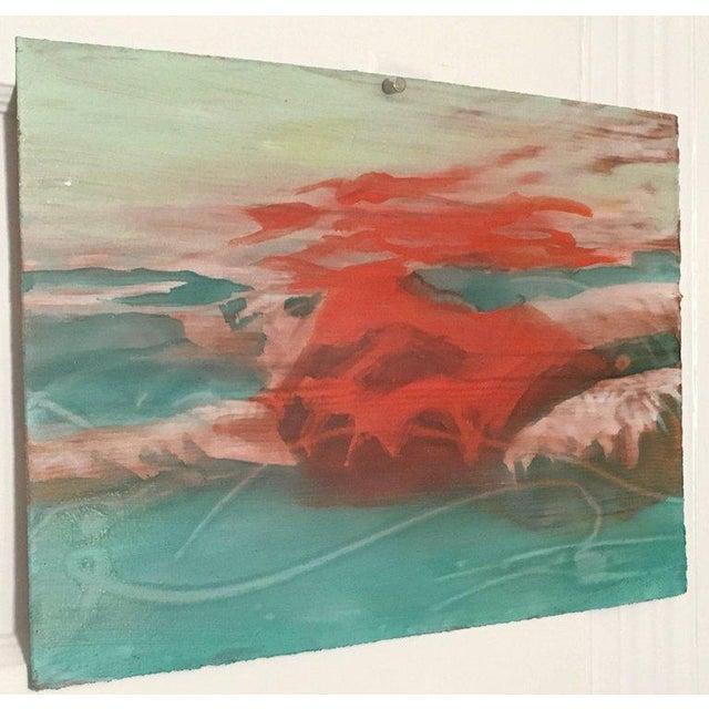 "Abstract Carol Bennett ""Suspense Study"" Figurative Swimmer Artwork on Paper, 2017 For Sale - Image 3 of 8"