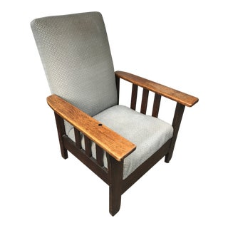 1950's Vintage Royal Easy Push Button Recliner For Sale