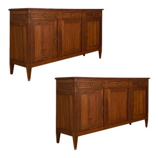 Antique French Directoire Buffets - a Pair For Sale