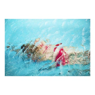 """Cheryl Maeder """"Submerge Judith II"""" Photographic Watercolor Print For Sale"""
