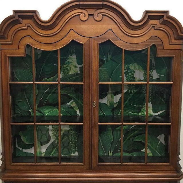 Dorothy Draper Cabinet in nice as found vintage condition. There are minor scuffs, scrapes and wear to the original as...