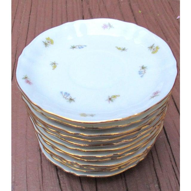 Mid-Century Modern Richard Ginori Italian Porcelain Tea Cups - 24 Piece For Sale - Image 3 of 11