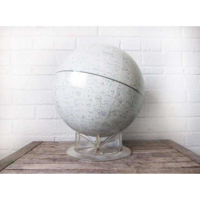 Vintage Replogle Mid-Century Lunar Moon Globe For Sale In Boston - Image 6 of 10
