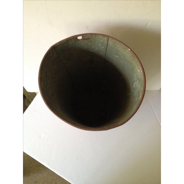 Vintage Painted Sap Bucket - Image 9 of 9