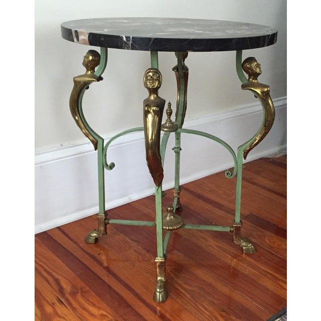 Antique French Marble Table - Image 7 of 9