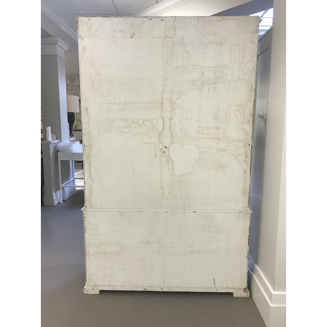 Farmhouse Milling Road White China Cabinet For Sale - Image 3 of 13