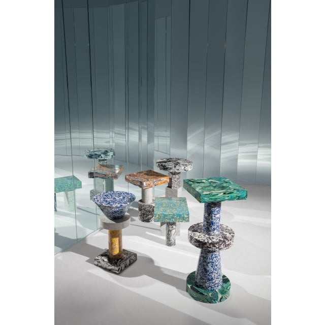 Resin Tom Dixon Swirl Table Cone For Sale - Image 7 of 8