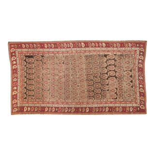"Antique Karabagh Carpet - 5'2"" x 9'4"" For Sale"
