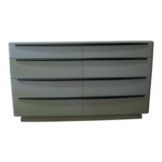 Heywood Wakefield Streamlined Modern Painted Credenza For Sale