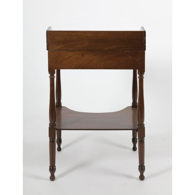 Federal 19th Century American Federal MahoganyTable For Sale - Image 3 of 7