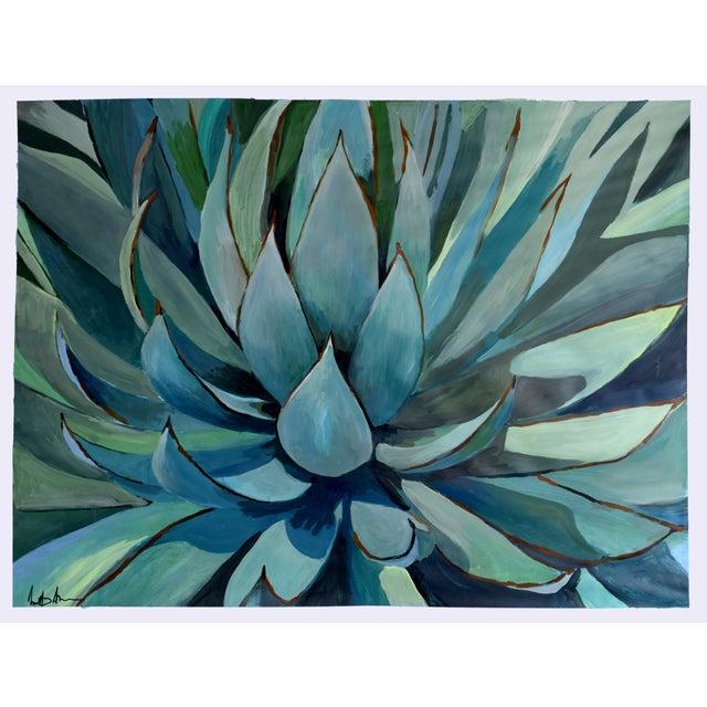 Agave Americana Acrylic Painting - Image 1 of 10
