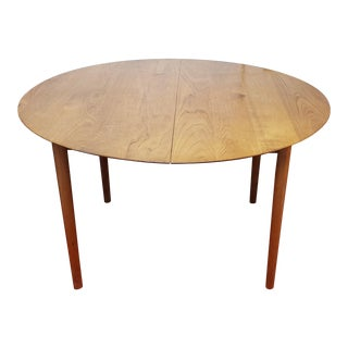 1950s Danish Modern Peter Hvidt and Orla Molgaard for Soborg Mobler Dining Table For Sale