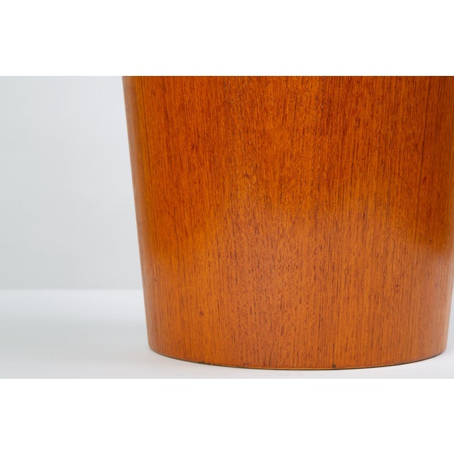 Rainbow Wood Products Teak Wastebasket by Martin Åberg For Sale - Image 9 of 10