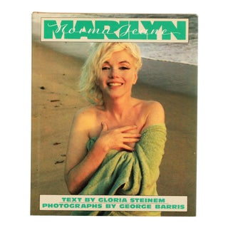 Vintage Marilyn Monroe Hardcover Book by Gloria Steinem For Sale