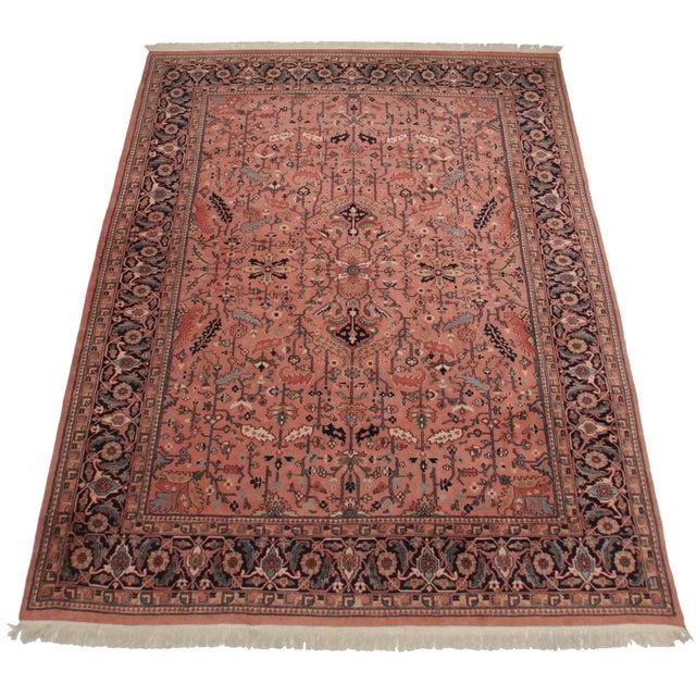 Rugsindallas Vintage Persian Design Wool Area Rug