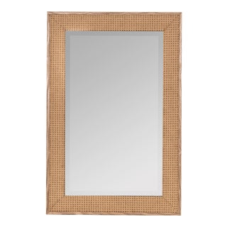 Willa Woven Wall Mirror, Natural For Sale