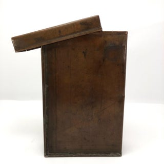 Arts and Crafts Style Lidded Copper Book Box Preview