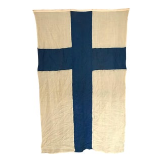 Antique Flag of Finland