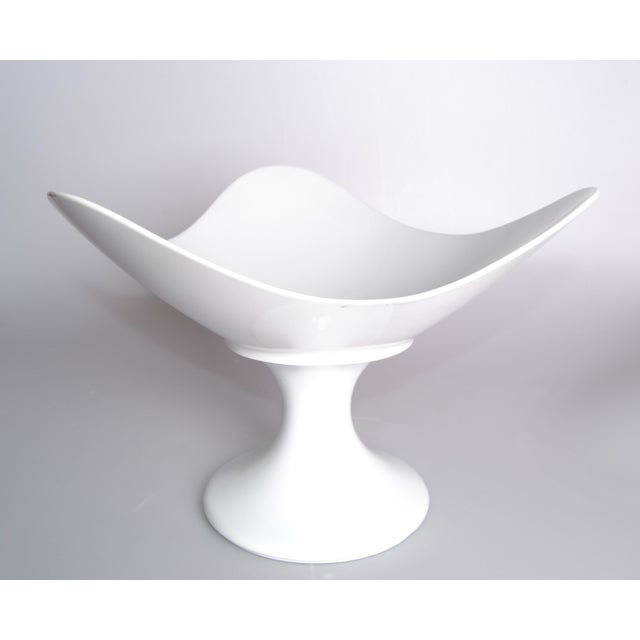 White Porcelain Rosenthal Fruit Bowl For Sale - Image 5 of 9