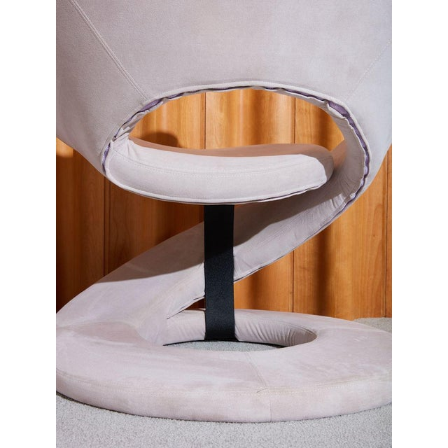 1990s Jaymar Corkscrew Armchair For Sale - Image 5 of 7