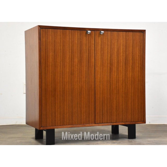 1950s George Nelson for Herman Miller Walnut Cabinet Credenza For Sale - Image 11 of 11