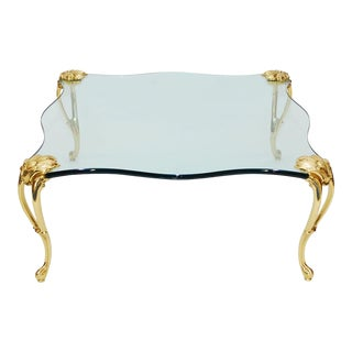 Coffee Table Attributed to Maison Jansen For Sale
